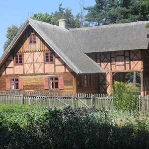 One of the village houses