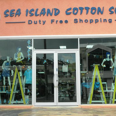 Sea Island Cotton Shop, Baywalk Shopping Mall, Rodney Bay, St. Lucia