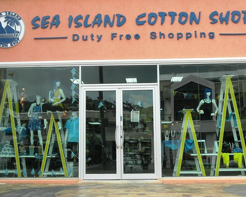 Sea Island Cotton Shop, Baywalk Shopping Mall, Rodney Bay, St. Lucia