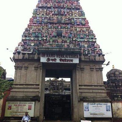 balaji temple ヴィシュヌ神のお寺です。
