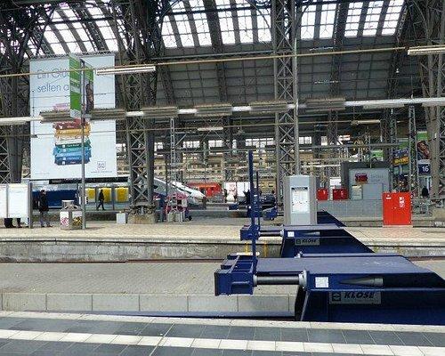 Gleis Frankfurt am Main HBF