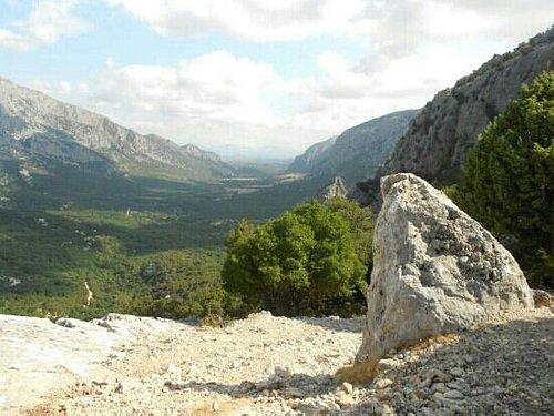 panorama in prossimità del sito