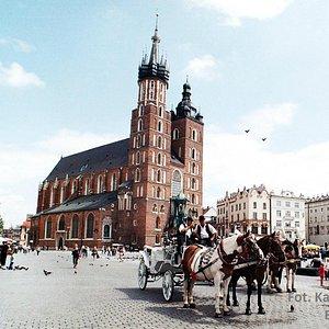 Kraków Stadsvandring