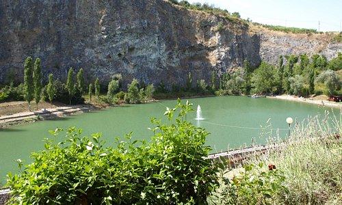 Lac pour la pêche sportive
