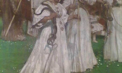Francesco Paolo Michetti, Le serpi (part.)