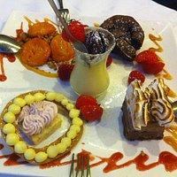 Grande assiette de desserts