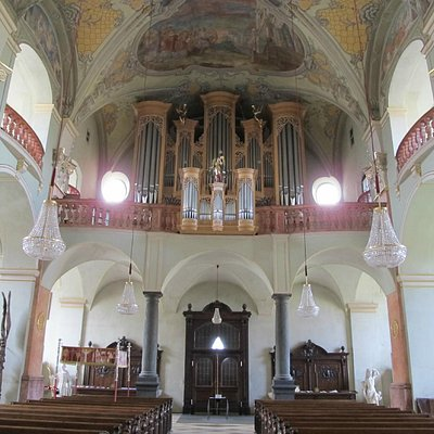 Organ in St Egyd.