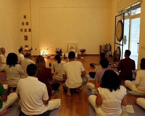 Meditazione presso Centro Yoga 108