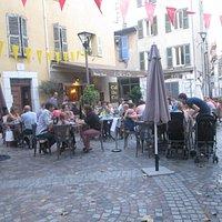 La piazzetta del Cafe du coin