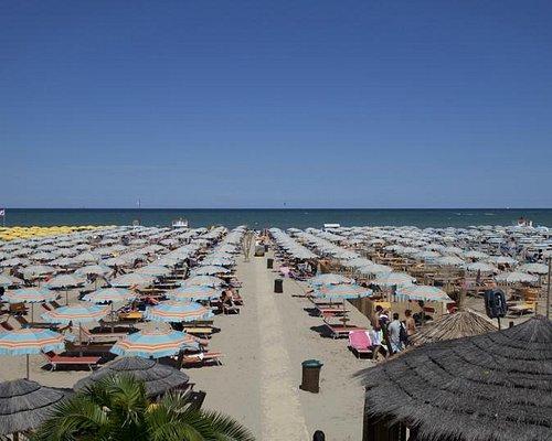 Bagno 81 no problem - panoramica della spiaggia