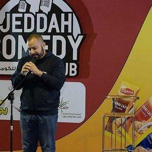 Yaser Bakr hosting the show