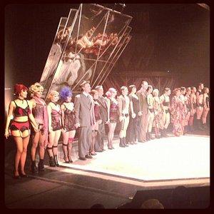 Musical Cabaret, dezembro de 2012.