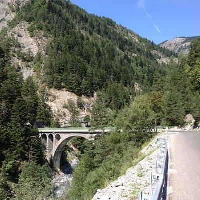 Col de la Cayolle, côté Barcelonnette
