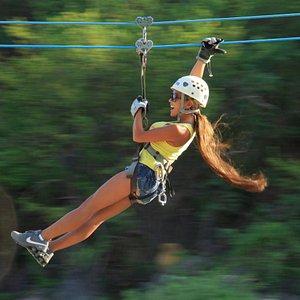 """Outdoor Zip Line Adventure""  Cabo's premier eco-adventure"