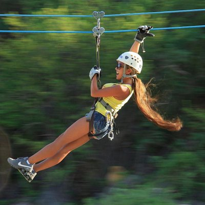 """Outdoor Zip Line Adventure""  Cabo's premier eco-adventure"