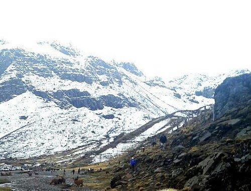 Hermoso nevado en el Tunari