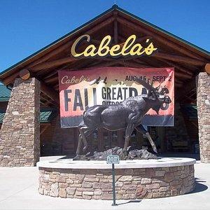 Entrance of Cablea's, Scarborough, Maine