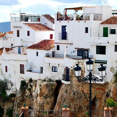 The hanging terrace houses