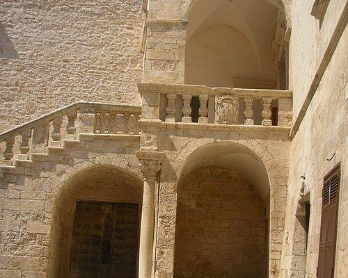 Particolare del Castello ducale di Ceglie Messapica