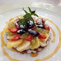 Tartelletta di frutta e crema