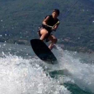 Wakeboard al Lido di Baveno - Hauoom Waterschool