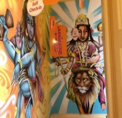 entrance hall laughing lotus NY