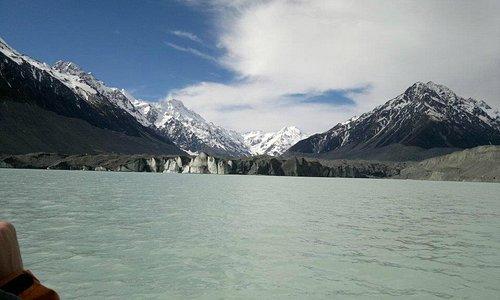 Tasman Glacier from Tasman Glacier Lake