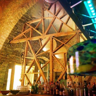 Tsati Cocktail bar inside