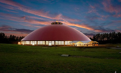 Mahima- the largest meditation hall in the West