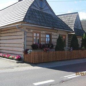 Wooden and garden, Chocholow.