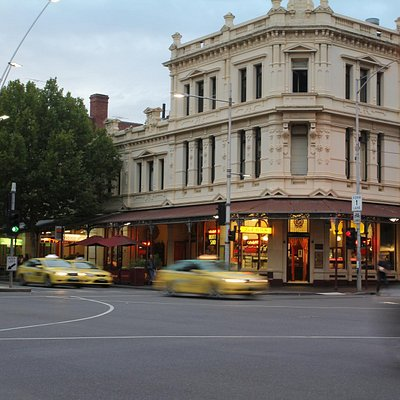 Lygon street entrance