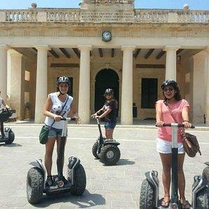 Valletta segway tour