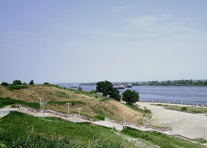 View of the Dniepr