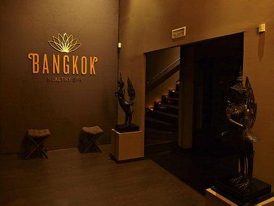 Recepción Bangkok Healthy Spa