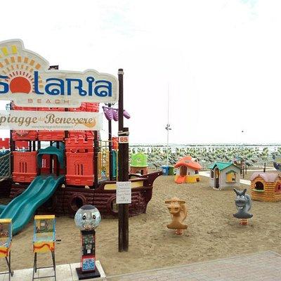 area giochi per bambini Solaria beach