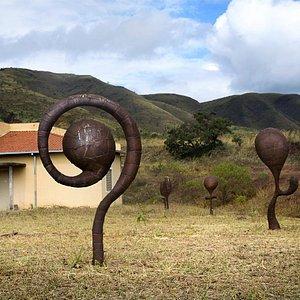 Obras de Leandro Gabriel no Parque