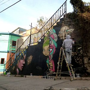 UKD Wall in Cerro Carcel