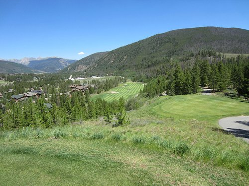 The River Course at Keystone 16th hole