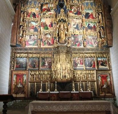 retablo de la colegiata