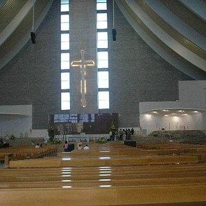 Igreja da Madre Paulina interior.