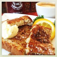 French toast made from fresh baked bread...Mmmmmmmm