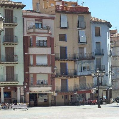 Plaza España en Calatayud