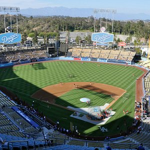 Great setting for a baseball stadium