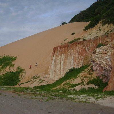 Duna e falésias Ponta Grossa