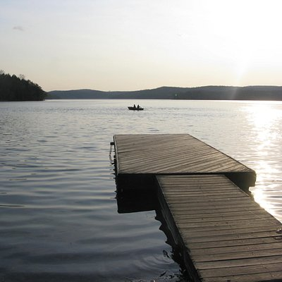 camping area dock