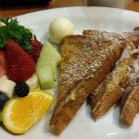 French toast + fruit