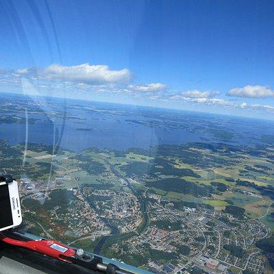 Eskilstuna from the air.