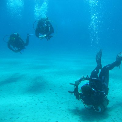 Diving at the