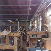 Brienz Schweizer Holzbilderhaueri Museum - Werkstatt