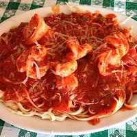 The Shrimp Fra Diavolo.